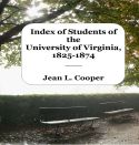 Book Cover - Index of Students of the University of Virginia, 1825-1874