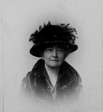 A photograph of Mrs. Nancy Toy.